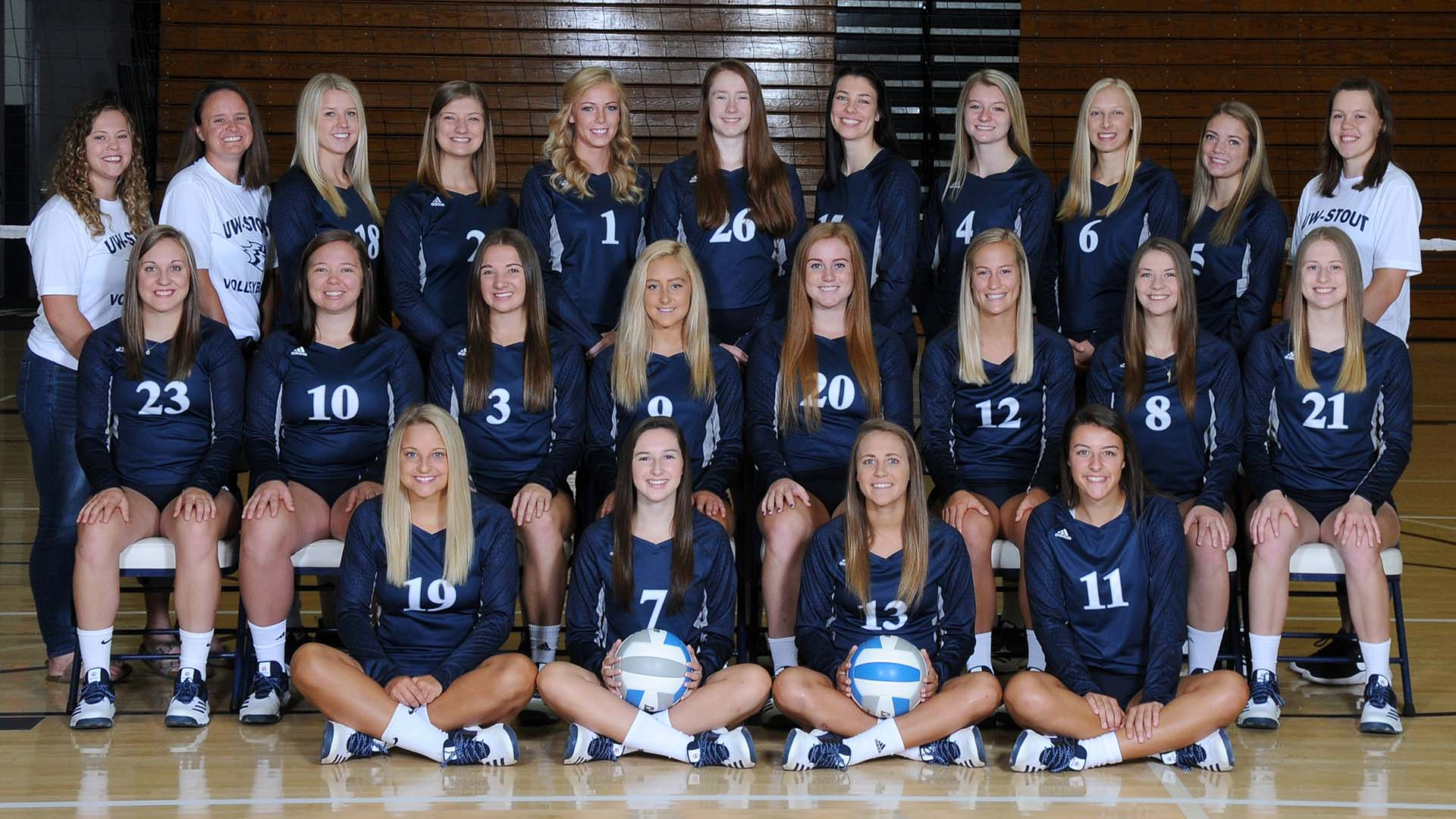 Blue Devil Volleyball Earns Team National Academic Honors University Of Wisconsin Stout Athletics