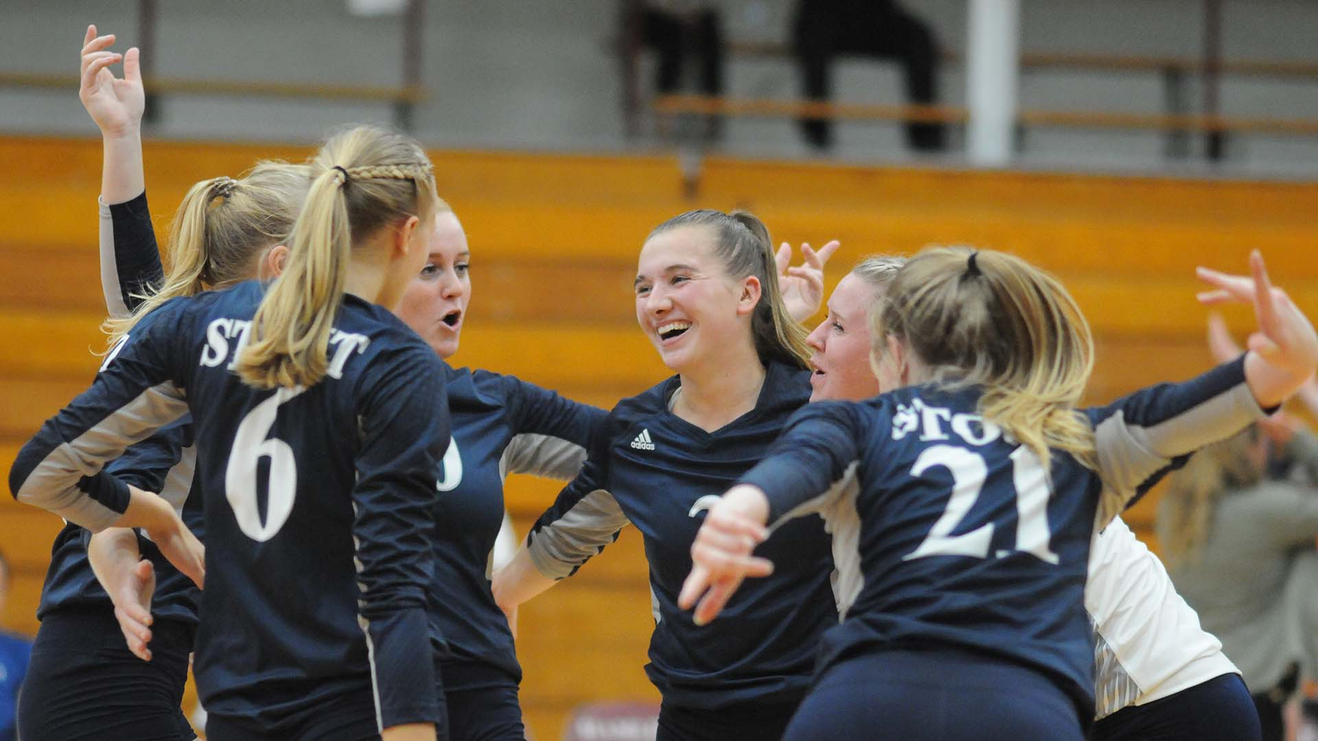 Volleyball Season Was Scheduled To Get Underway Wednesday Here S The Next Best Thing University Of Wisconsin Stout Athletics